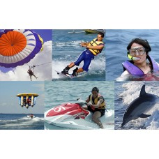 Water Blow, Parasailing, Sea Walker, Lunch, Uluwatu Temple