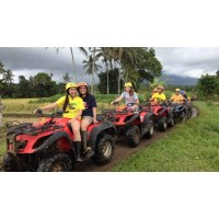 Ayung River Rafting, Tandem ATV Ride