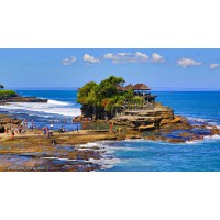 Tanah Lot Temple, Jimbaran Seafood Dinner
